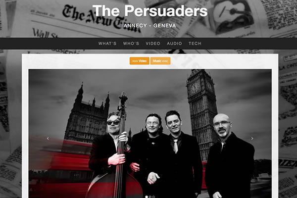 the persuader jazz band